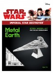 Metal Earth Star Wars Imperial Star Destroyer -  Metalowy Model Do Składania , bez klejenia Na Prezent