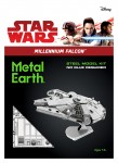Metal Earth Star Wars Sokół Millennium Falcon model do składania metalowy.