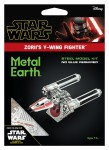 Metal Earth Star Wars Zorii's Y-Wing Fighter Metalowy Model Do Składania
