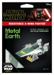 Metal Earth Star Wars Resistance A-Wing Fighter Metalowy Model Do Składania.
