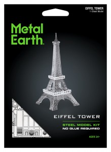 Metal Earth Eiffel Tower Wieża Eiffla model do składania metalowy.