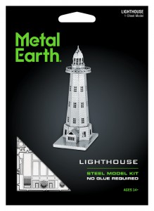 Metal Earth Latarnia Morska Lighthouse Metalowy Model Do Składania.