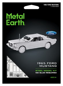 Metal Earth Ford Mustang 1965 Metalowy model do składania
