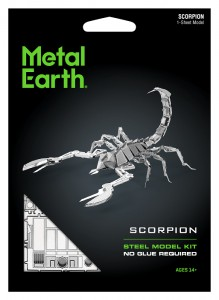 Model Do Składania Metal Earth Skorpion Scorpion - bez klejenia Na Prezent
