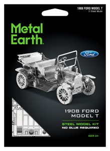 Metal Earth Samochód Ford Model T 1908 r. Metalowy model do składania