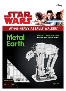 Metal Earth Star Wars AT-M6 Heavy Assault Walker Metalowy Model Do Składania.