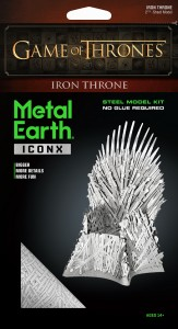 Metal Earth Gra o Tron Żelazny Tron Iron Throne GOT Game of Thrones