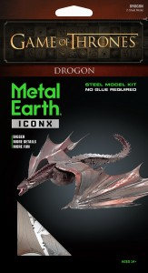 Metal Earth Gra o Tron Smok Dragon GOT Game of Thrones