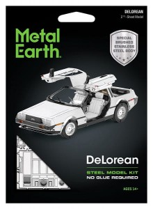 Metal Earth DeLorean Metalowy model do składania