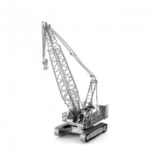 Metalowy Model Do Składania Metal Earth Żuraw Dźwig Crawler Crane - bez klejenia Na Prezent