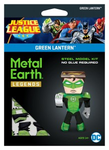 Metal Earth Justice League Green Lantern Model Do Składania.