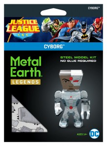 Metal Earth Justice League Cyborg Model Do Składania.