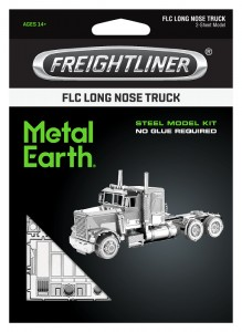 Metal Earth Freightliner FLC Long Nose Truck Metalowy model do składania
