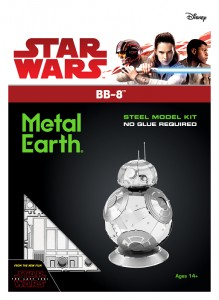 Metal Earth Star Wars BB-8 BB8 model do składania metalowy.