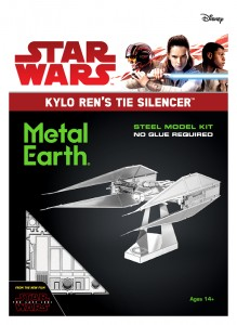 Metal Earth Star Wars Kylo Ren's TIE Silencer Metalowy Model Do Składania