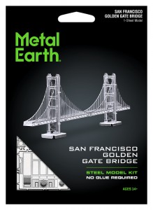 Metal Earth Most Golden Gate Bridge Metalowy Model Do Składania.