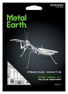 Metal Earth Praying Mantis Modliszka model do składania metalowy.