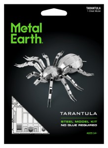 Metal Earth Tarantula model do składania metalowy.