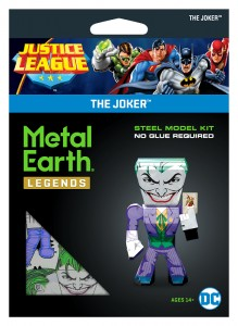 Metal Earth Justice League Joker Model Do Składania