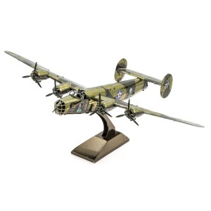 Metal Earth Bombowiec B-24 Liberator  Metalowy Model Do Składania