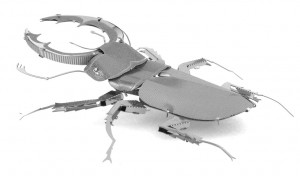 Metal Earth Jelonek Rogacz Stag Beetle - Metalowy Model Do Składania , bez klejenia Na Prezent