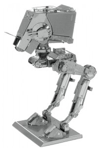 Metal Earth Star Wars AT-ST model do składania metalowy.