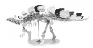 Metal Earth Dinozaur Stegozaur Stegosaurus Szkielet model do składania metalowy.